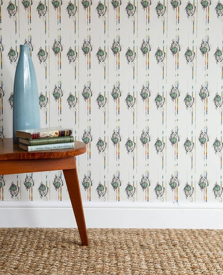 Undulating Feather:  Walls & flooring by Rachel Reynolds
