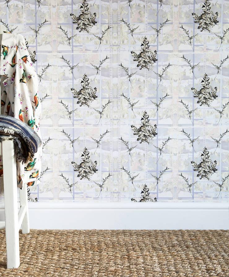 Thistles:  Walls & flooring by Rachel Reynolds