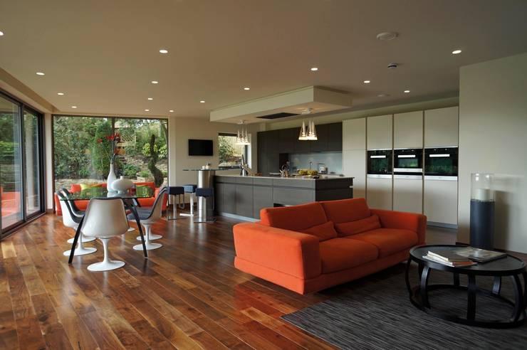 Ventura: modern Kitchen by David James Architects & Partners Ltd