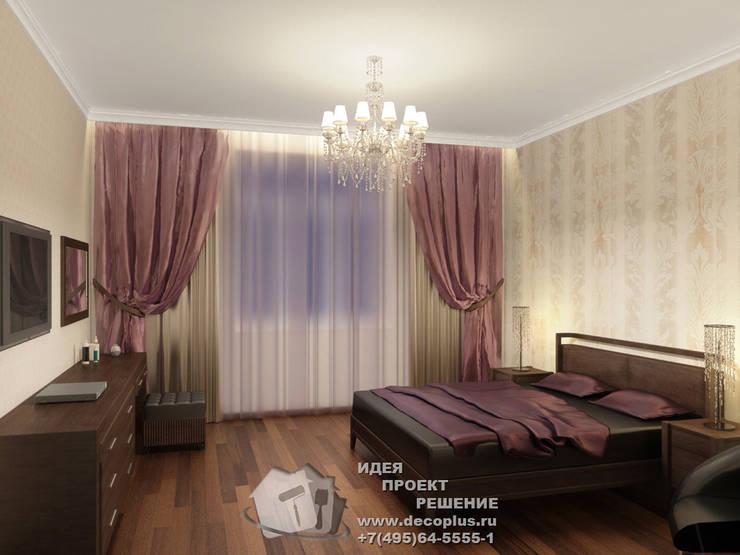 Фото интерьера спальни: Спальни в . Автор – Бюро домашних интерьеров
