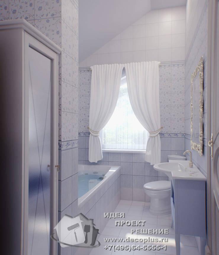 浴室 by Бюро домашних интерьеров, 鄉村風