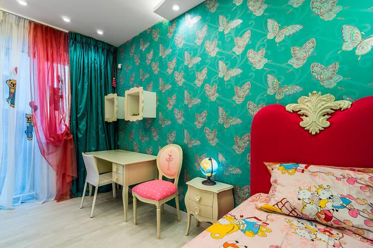 """Квартира в ЖК """"КОСМОС"""": Детские комнаты в . Автор – Belimov-Gushchin Andrey"""