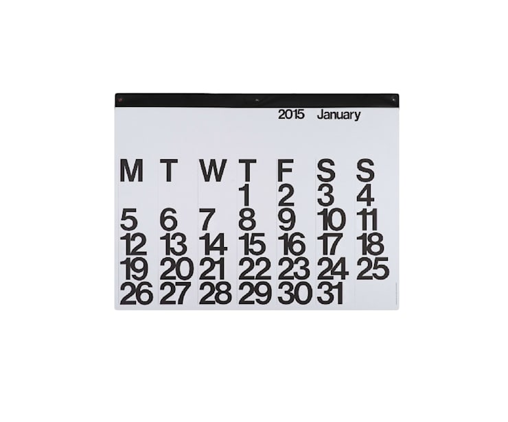 Stendig kalender:  Studeerkamer/kantoor door Kleuroptafel