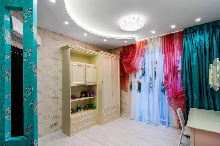 Квартира в ЖК <q>КОСМОС</q>: Детские комнаты в . Автор – Belimov-Gushchin Andrey