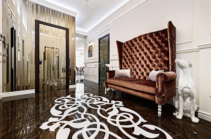 Дизайн интерьера квартиры, ЖК GOLDEN PARK: Коридор и прихожая в . Автор – ELIZABETH STUDIO DESIGN