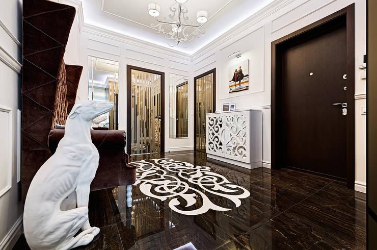 Pasillos, vestíbulos y escaleras de estilo moderno de ELIZABETH STUDIO DESIGN Moderno