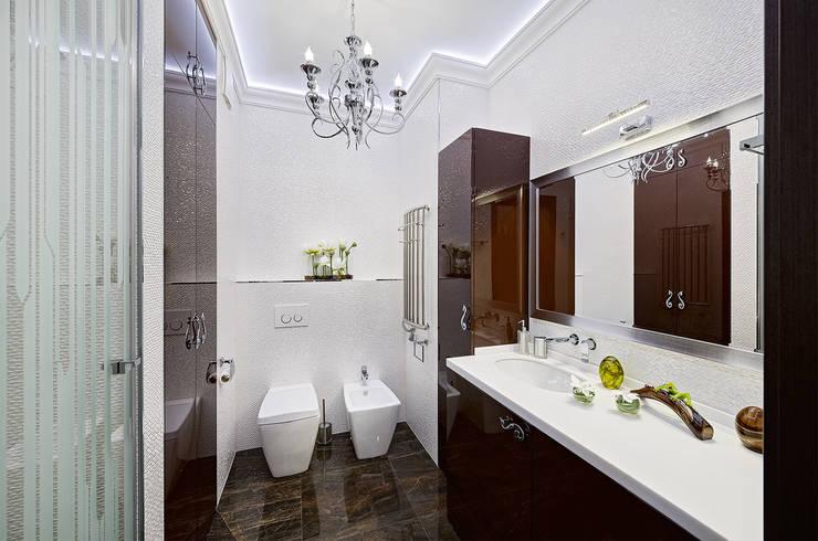 Дизайн интерьера квартиры, ЖК GOLDEN PARK: Ванные комнаты в . Автор – ELIZABETH STUDIO DESIGN