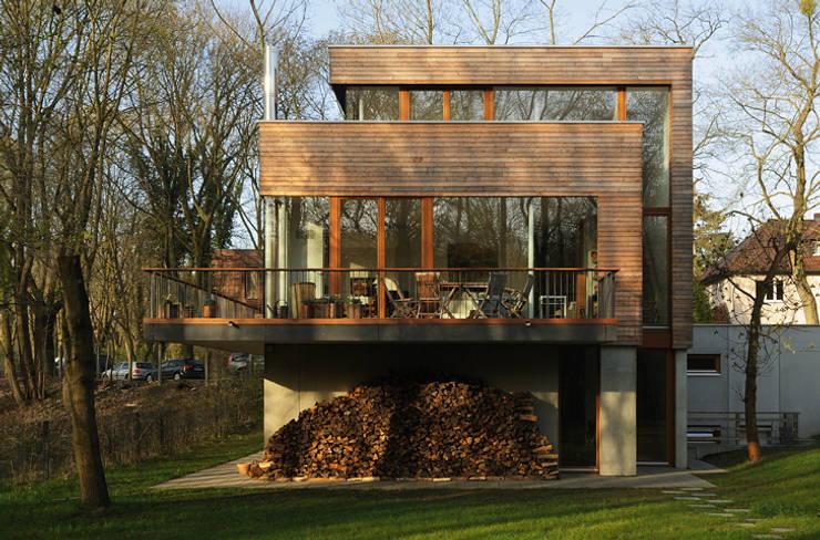 Carlos Zwick Architekten의  주택