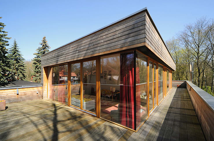 Carlos Zwick Architekten의  정원