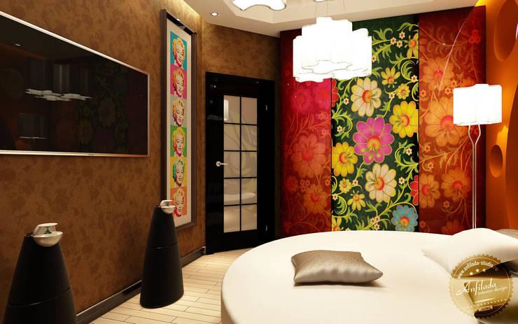 Аппартаменты малой площади: Спальни в . Автор – Anfilada Interior Design