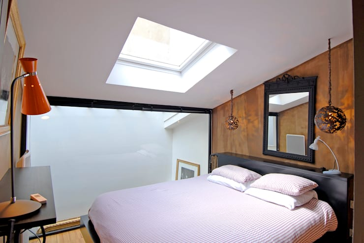 Dormitorios de estilo  de ZOEVOX - Fabrice Ausset