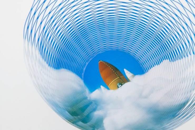 Air Vase space: modern  door Kleuroptafel, Modern