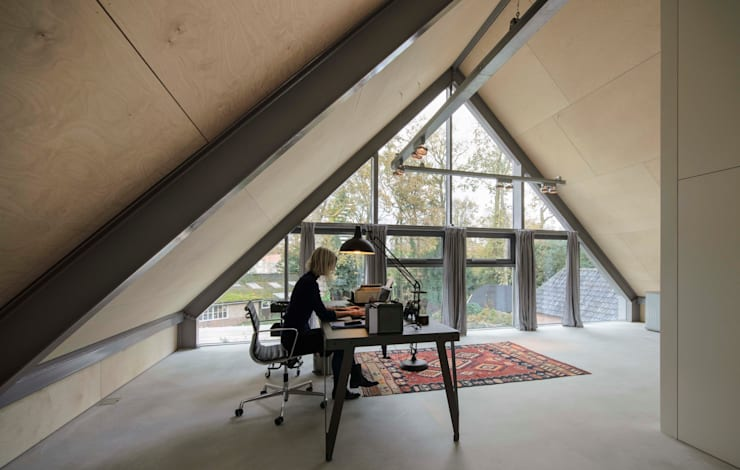 書房/辦公室 by Blok Kats van Veen Architecten