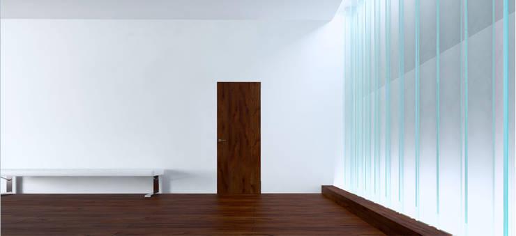 Вилла в Анапе в стиле минимализм (Анжелика Марзоева): Коридор и прихожая в . Автор – Галерея интерьеров 'Angelica Marzoeva'