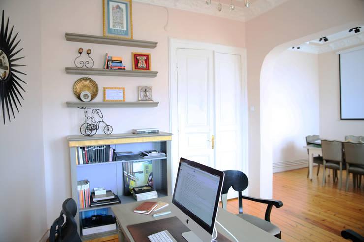 Aykuthall Architectural Interiors – Aykuthall Office 2015:  tarz Ofis Alanları & Mağazalar