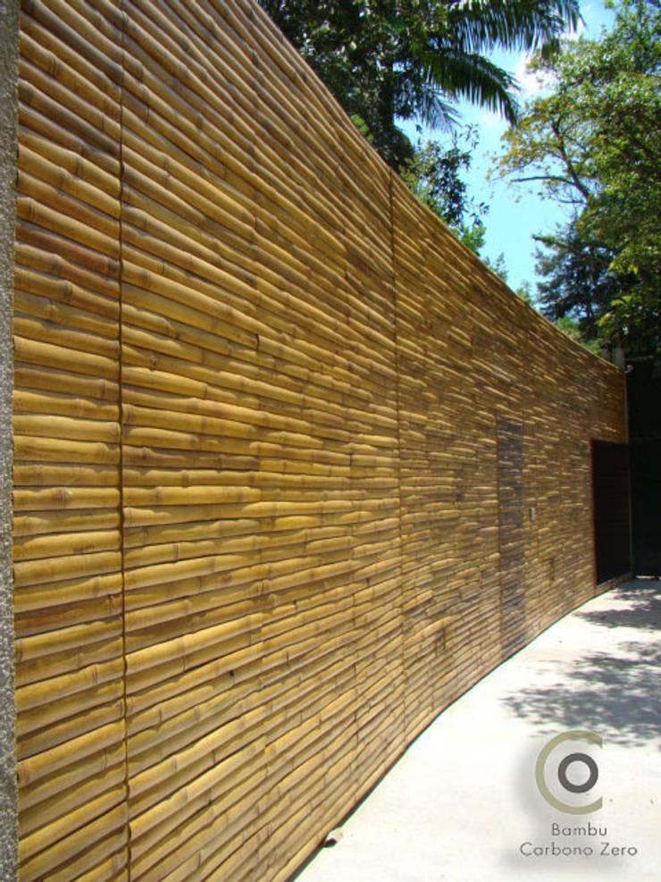Bambu Carbono Zero e Arq. Isay Weinfeld: Paredes  por BAMBU CARBONO ZERO