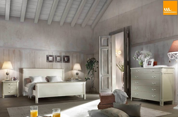 Dormitorios de estilo  por Mobilinolimit