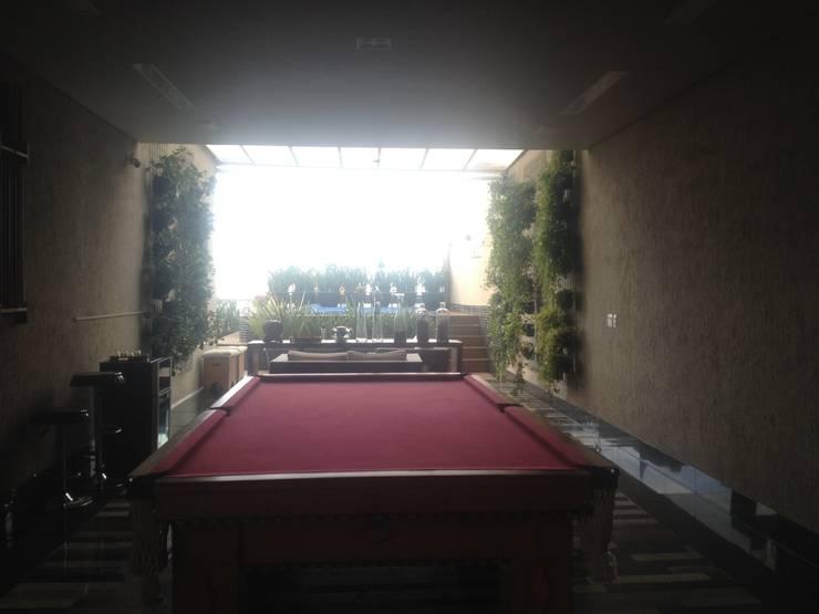 Projeto Paisagístico Residencial - 2014: Jardins  por Rizck Paisagismo
