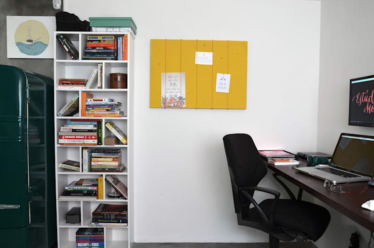: Estudio Motim: Escritórios  por Mmaverick Arquitetura,Industrial