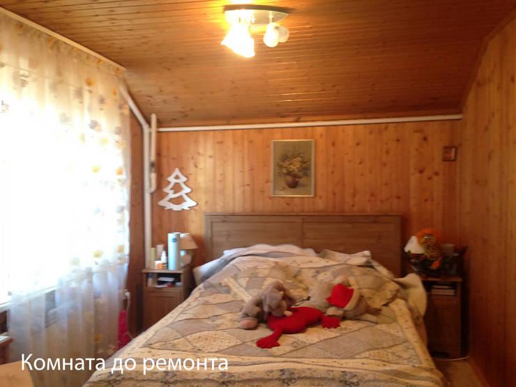 Комната до ремонта:  в . Автор – МайАрт: ремонт и дизайн помещений,
