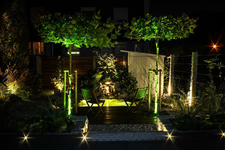 Jardin de style  par -GardScape- private gardens by Christoph Harreiß