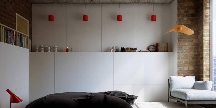 Lenz Architects:  tarz Yatak Odası