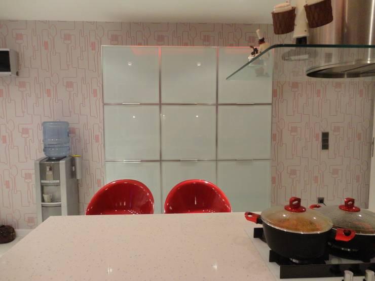 Vizyon Mimarlık ve Dekorasyon – N.A.A EVİ / Uzunköprü – EDİRNE:  tarz Mutfak