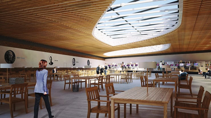 UNIVERSITY CAMPUS / ASTANA: Школы и учебные заведения  в . Автор – Lenz Architects