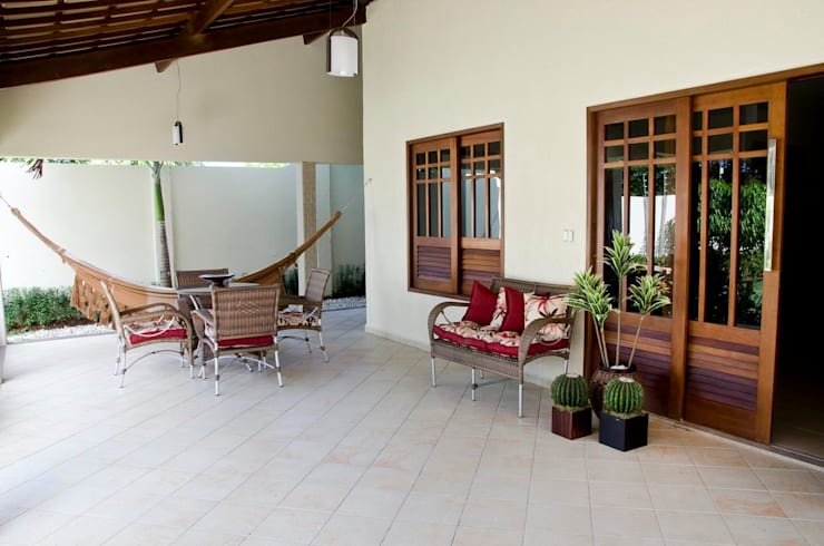 Casas de estilo  por Celia Beatriz Arquitetura