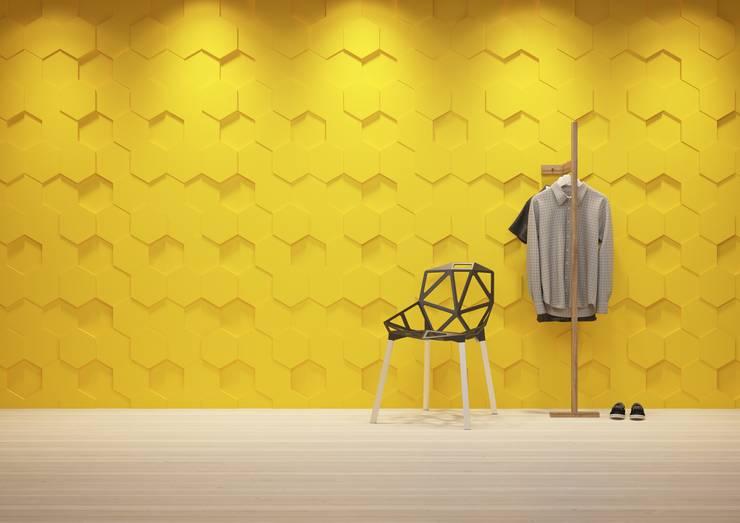 Panele 3D: styl , w kategorii Garderoba zaprojektowany przez Deeco,