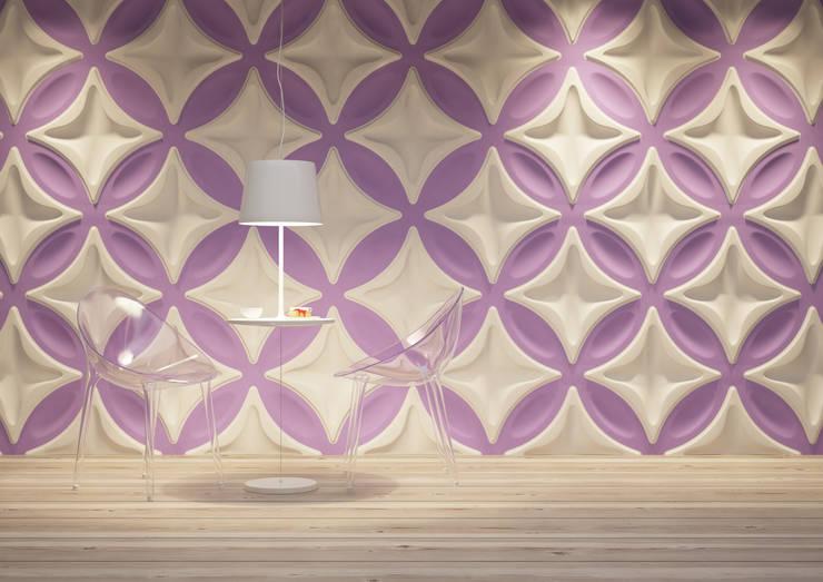 Panele 3D: styl , w kategorii Ściany zaprojektowany przez Deeco,