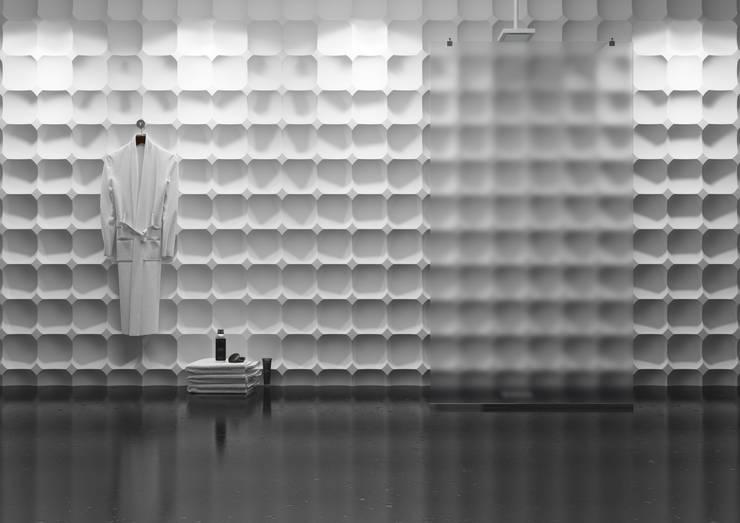 Panele 3D: styl , w kategorii Łazienka zaprojektowany przez Deeco,
