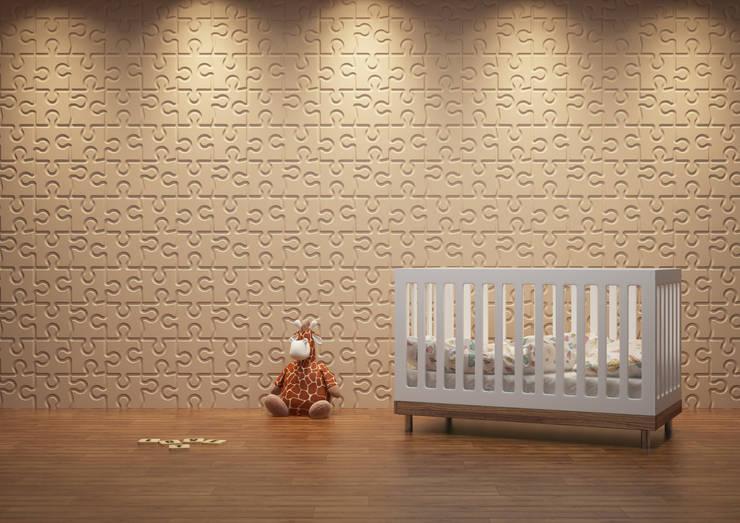 Chambre d'enfant de style  par Deeco
