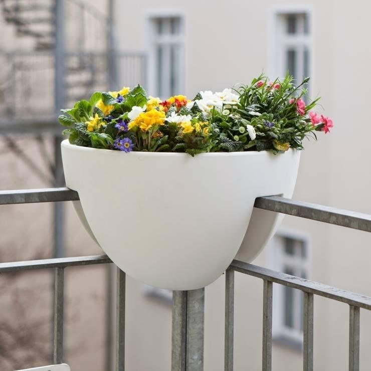 Balcon, Veranda & Terrasse de style  par ANCHOVI