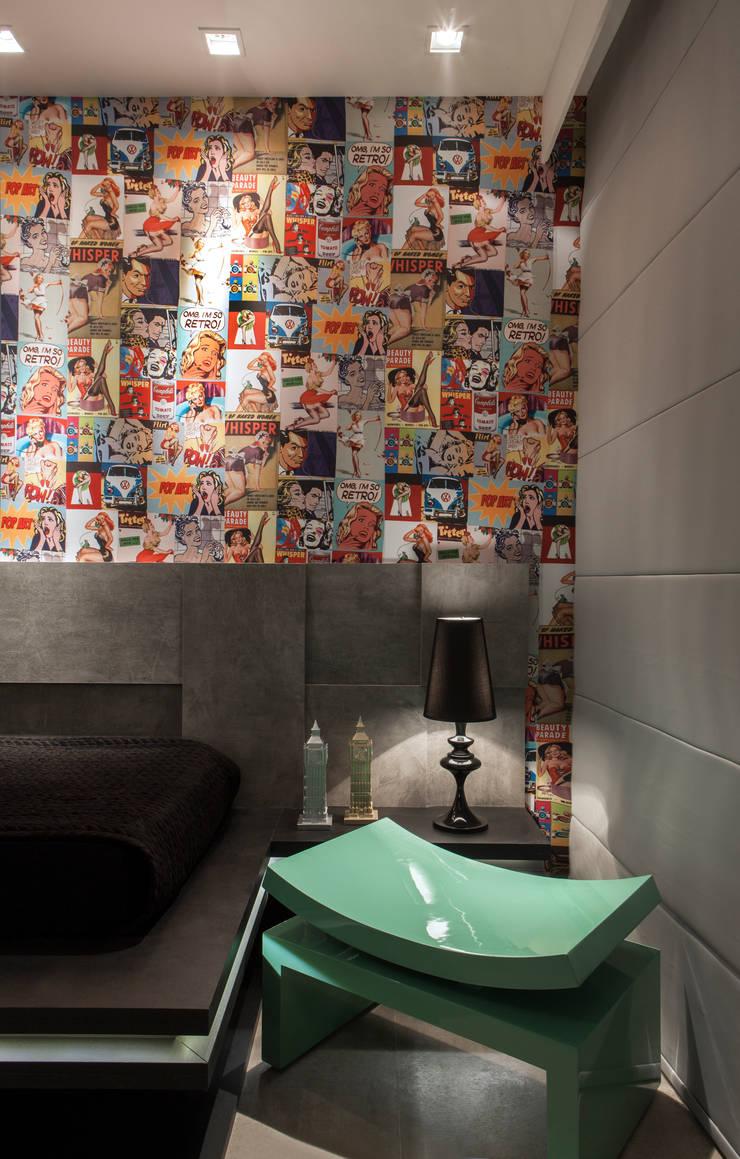 Phòng ngủ theo Celia Beatriz Arquitetura, Hiện đại