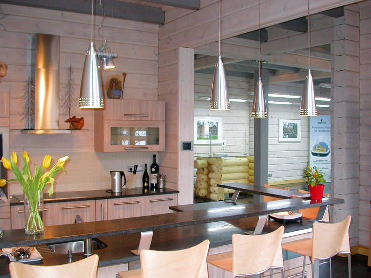 Cozinhas  por Woody-Holzhaus - Kontio