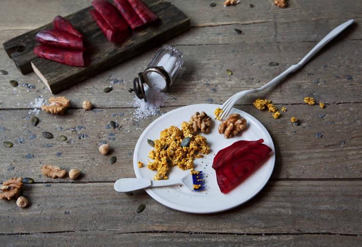 Tastemaker Zout en Zoet Vork: modern  door Studio Renee Boute, Modern