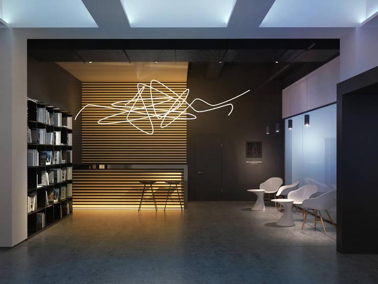 Галерея современного искусства. Екатеринбург: Коридор и прихожая в . Автор – Dmitriy Khanin