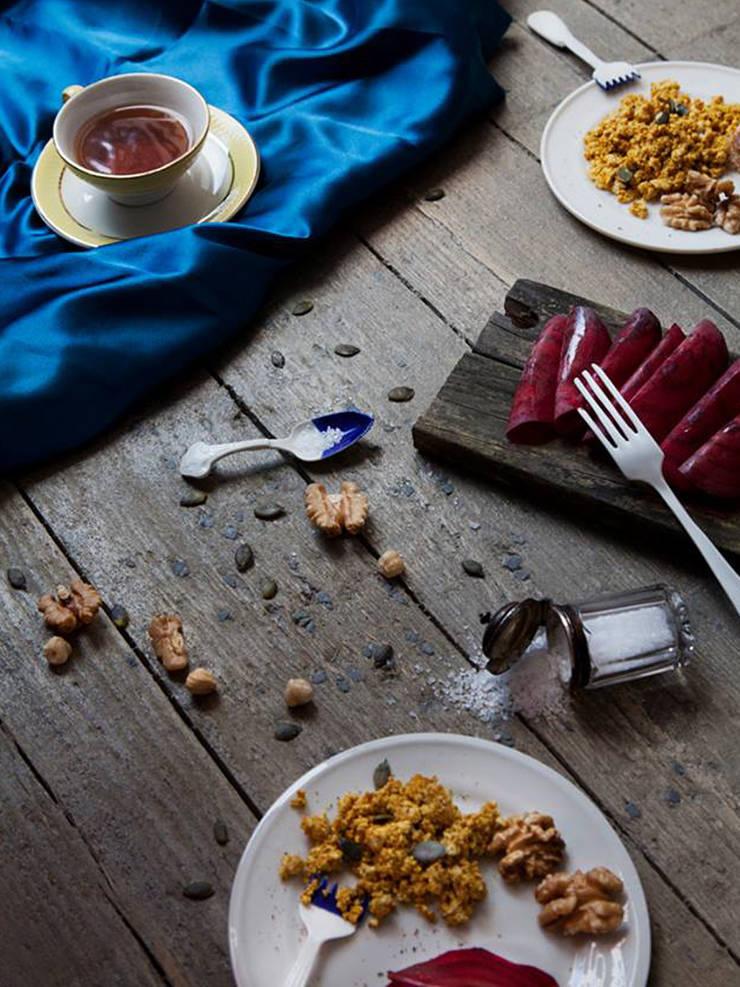 Tastemaker Zout Lepel en Zoet Vork: modern  door Studio Renee Boute, Modern