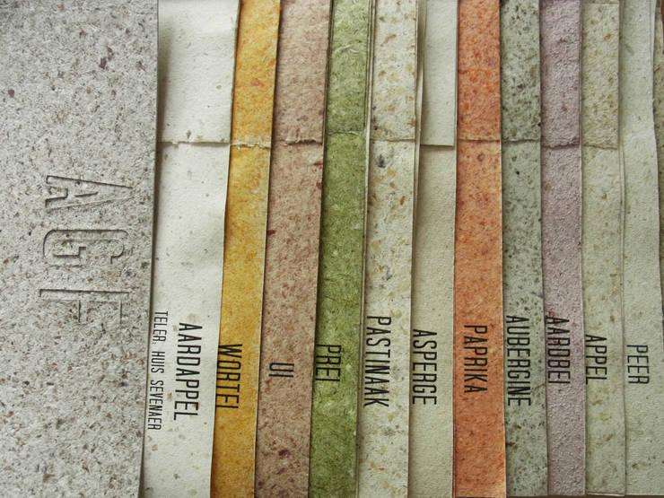 AGF Klasse 3 Diverse Soorten Papier: modern  door Studio Renee Boute, Modern