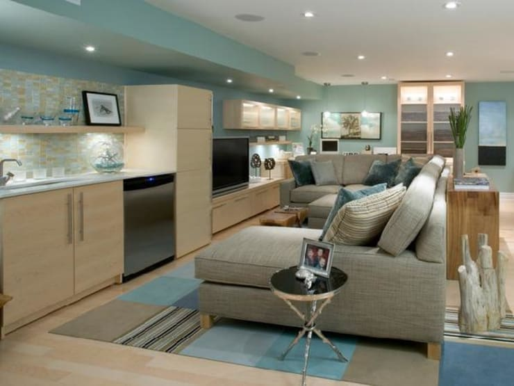 Ruang Keluarga oleh Deeco, Modern