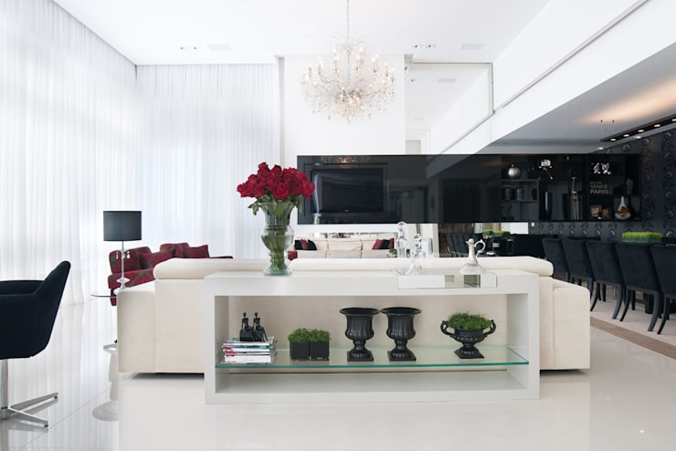 Residência: Salas de jantar  por Andreia Benini Arquiteta,Moderno