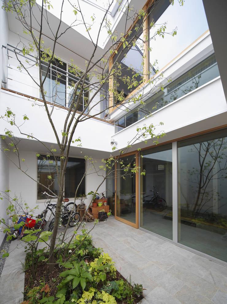 春風の家: 樋口章建築アトリエが手掛けた庭です。