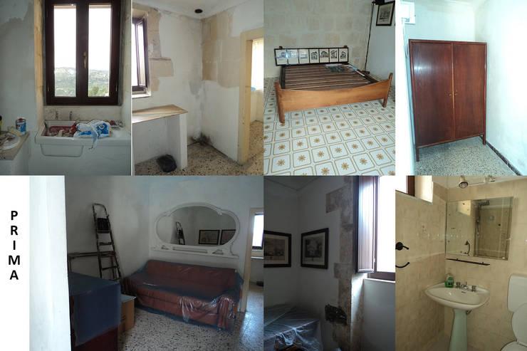 La casa in Sicilia, prima / The Sicilian house, before: Case in stile  di Boite Maison