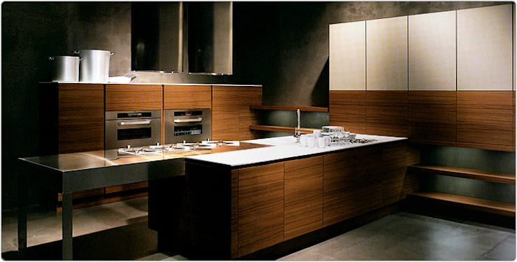 COCINAS MODERNAS: Cocinas de estilo moderno por Maxel
