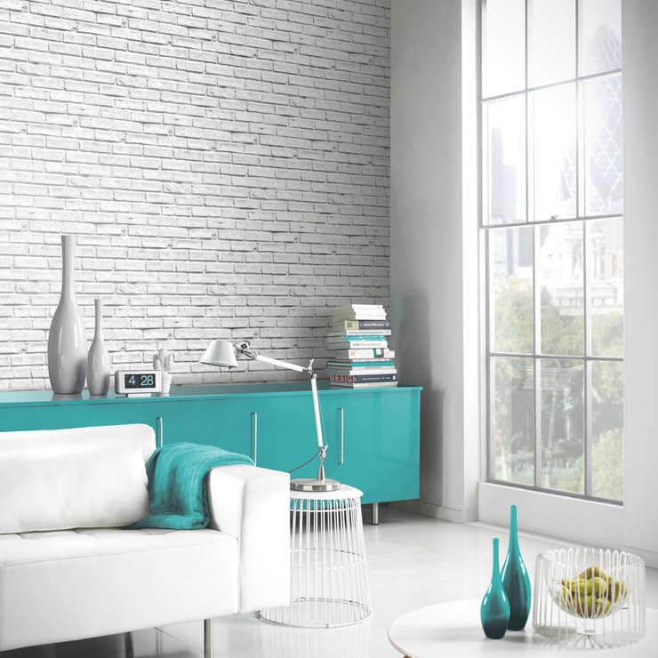 Murs & Sols de style  par I Want Wallpaper