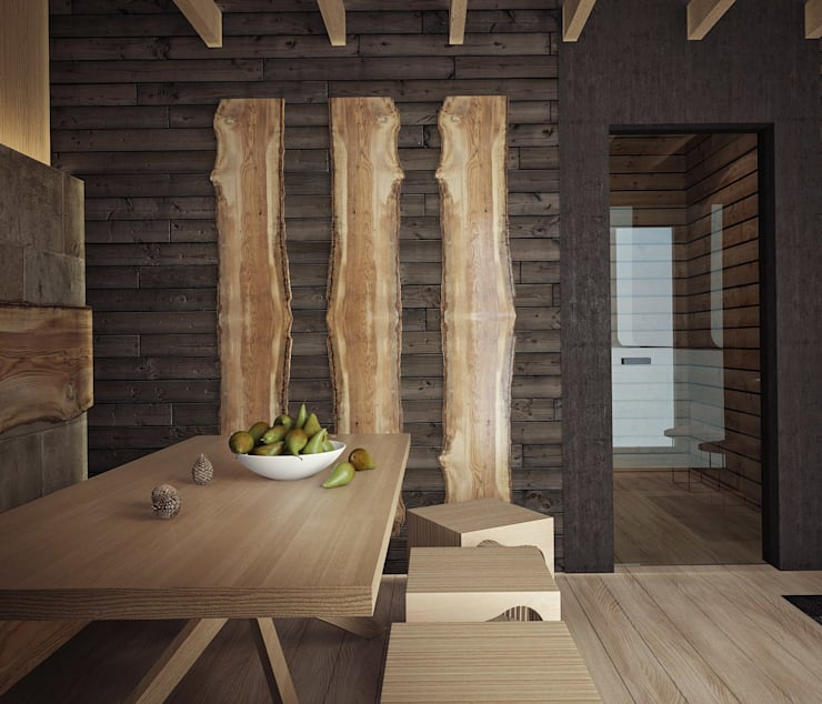 Загородный дом в Краснодаре: Спа в . Автор – NK design studio