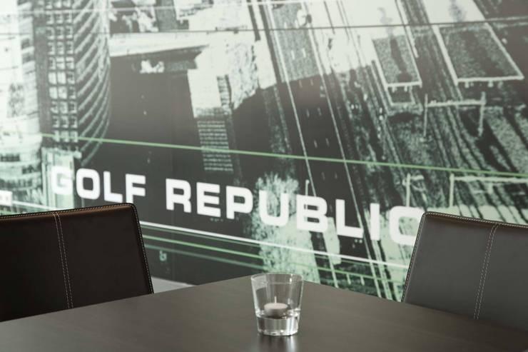 Indoor Golf Amsterdam Golf Republic:  Gastronomie door STUDIO CBiD
