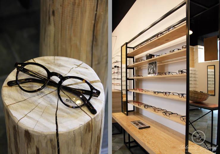 OKKO: styl , w kategorii Powierzchnie handlowe zaprojektowany przez Kołodziej & Szmyt Projektowanie wnętrz,