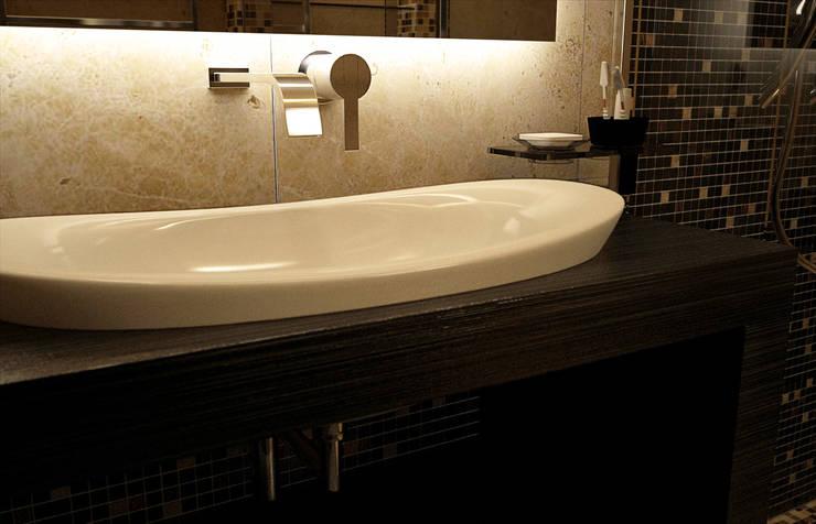 Baños de estilo  por Дмитрий Максимов, Moderno